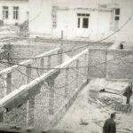 Budowa nowego skrzydła szpitala, 1965 rok.