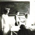 Lekarze z naszego szpitala podczas kontroli stanu zdrowia uczniów jednej z otwockich szkół.